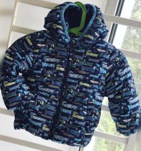 Куртка на холодную осень, ранюю весну.