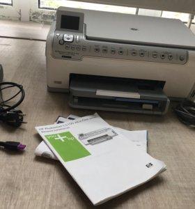 Принтер + сканер + факс