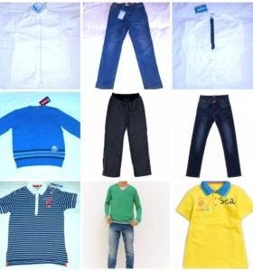 Новая одежда д.м размер 140
