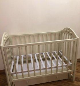 Детская кроватка Лель