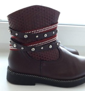 Утепленные ботиночки для девочки