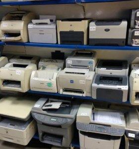 Лазерные принтеры Б/У