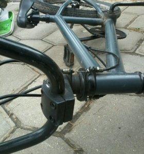 BMX для начинающих с узким рулем