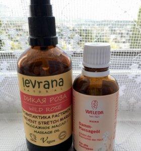 Масло от растяжек Levrana, масло Weleda