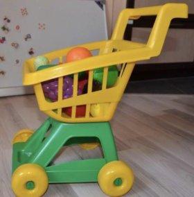 Тележка детская продуктовая