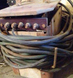 Электросварочные аппараты с кабелем (самодельный )
