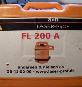 Лазер нивелирLASER-PROF FL200A andersen&nielsen dk