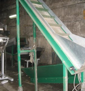 Оборудование для фасовки и очистки овощей.