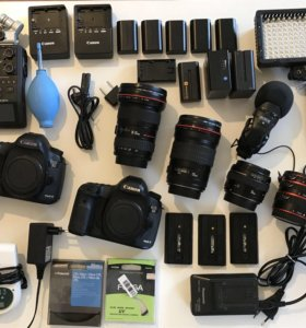Продаю оборудование для фото и видеосъёмки