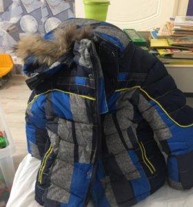 Куртка зимняя на 2 года