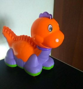 Игрушка динозаврик