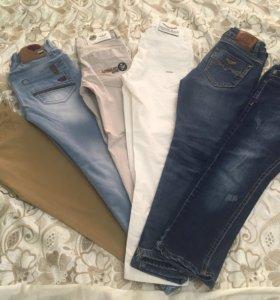 Продаются брюки, джинсы на пальчика