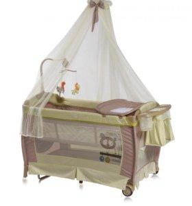 Кроватка-манеж трансформер Лорелли