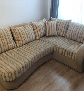 СРОЧНО! Продаю угловой диван в отличном состоянии