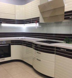 Кухня с витрины