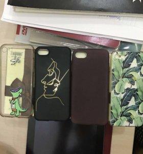 Чехлы на айфон 7