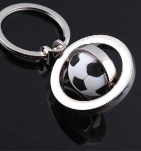 Брелок Футбольный мяч, новый