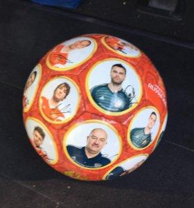 Мяч сборной России по футболу