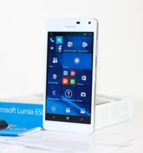 Доставка Microsoft Lumia 650 White NFC 1/16G