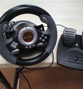 Руль с педалями Defender Challenge Mini LE