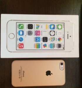 iPhone 5S Silver 16GB (Обмен)!