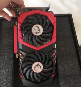 Видеокарта MSI Nvidia GeForce gtx 1050 ti gaming 4