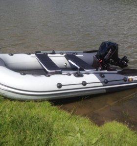 лодка Ривьера нднд 3200 гидролыжа + мотор mercury
