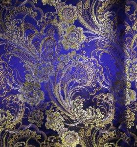 Ткань, парча старинная. 5 метров