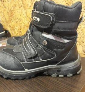 Зимние ботинки очень теплые