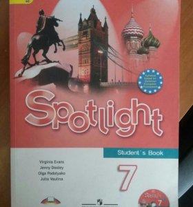 Учебник по Английскому. Spotlight 7 кл.