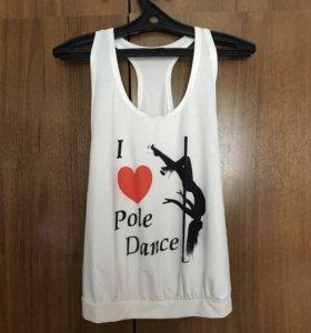 Майка для pole-dance