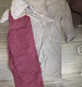 Медицинский халат , шапочка , брюки