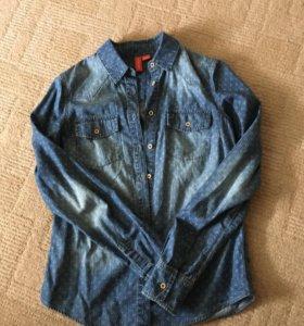 Джинсовая рубашка O'stin