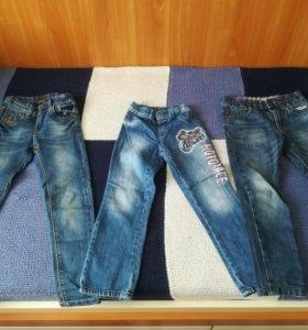 Деткие джинсы