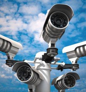 Видеонаблюдение, домофоны, Контроль доступа.