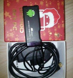 Android Mini PC MK802+андройд тв