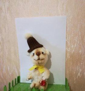 Тедди мишка коллекционный