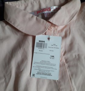 Блузка школьн. новая