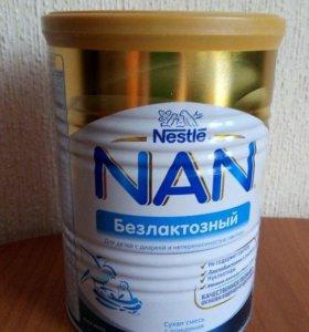 NAN Безлактозный, смесь с рождения, 400 г