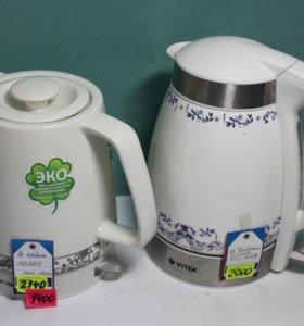 Керамический чайник POLARIS, VITEK