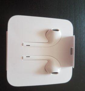 Оригинальные наушники на Apple IPhone X