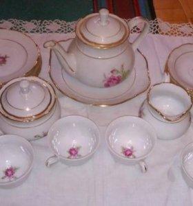 Чайный сервиз TK Thun Czechoslovakia