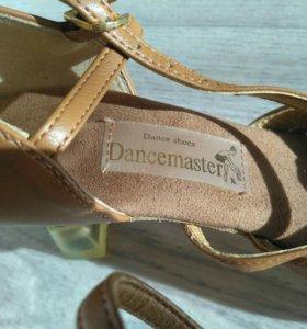 Туфли танцевальные бальные (новые)