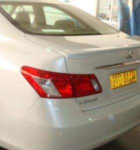 Спойлер Lexus IS 350 (2008)