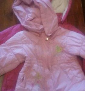 курткы для девочке