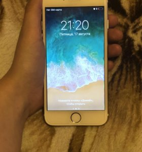 Айфон 6 gold 64 гб