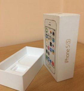 Коробка для iPhone 5s 16g