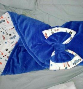 Конверт на выписку - одеяло