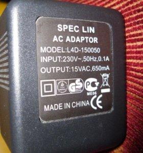 блок питания SPEC LIN AC ADAPTOR L4D-150050 15