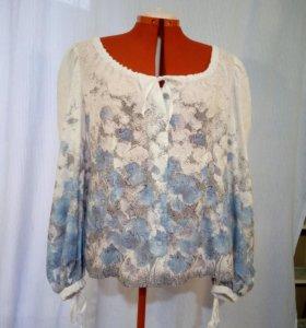 Блузы, рубашки р.52-54
